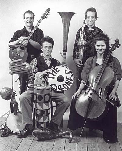 center>The Drones<br>London based contemporary quartet